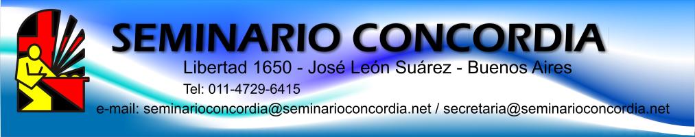 Seminario Concordia - Aula Virtual